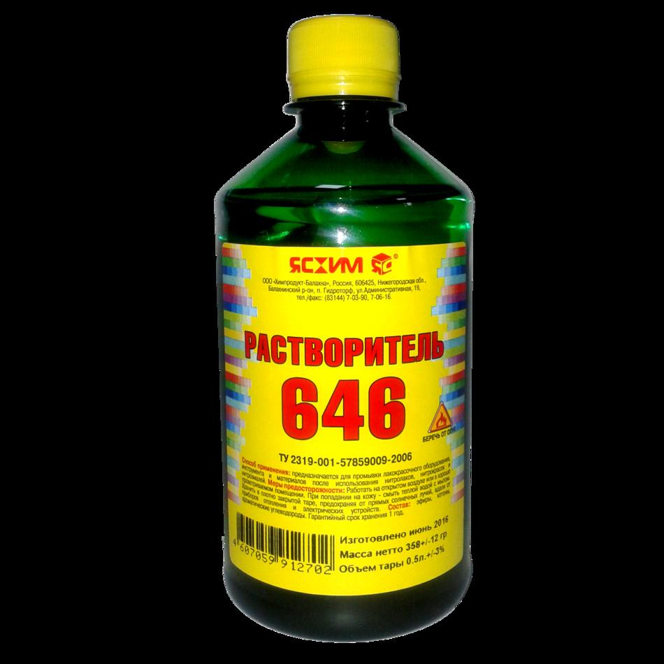 Растворитель 646  ТУ «Ясхим» ПЭТ