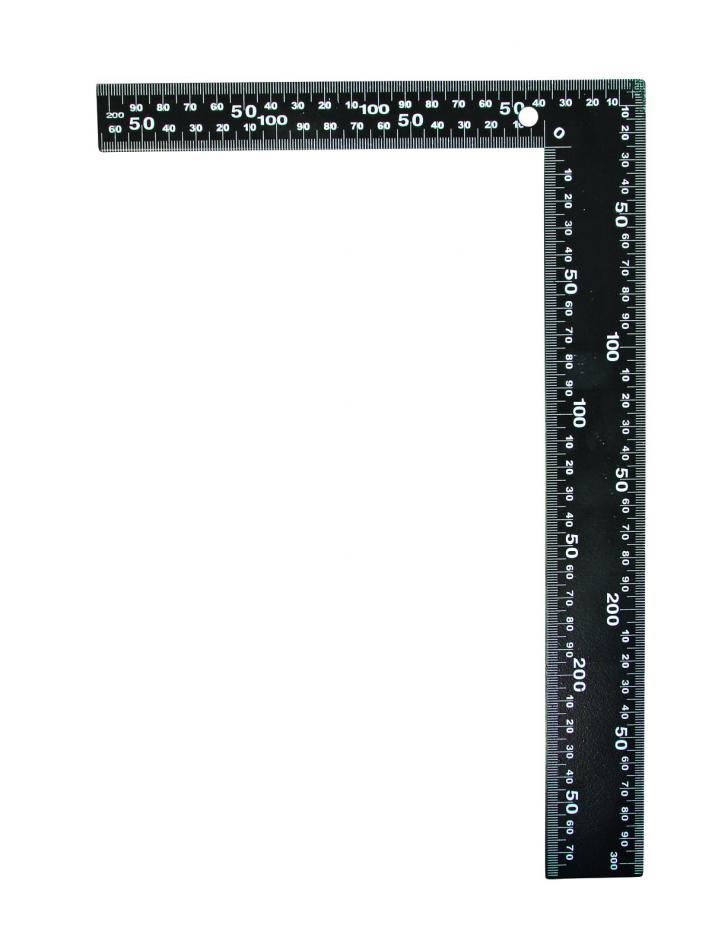 Угольник столярный цельнометаллический 300 мм (арт.153130)