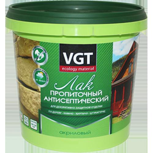 Лак пропиточный антисептический «VGT» 0,9 кг