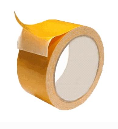 Лента клейкая двухсторонняя полипроп. 50 мм*5 м (арт. 494505)