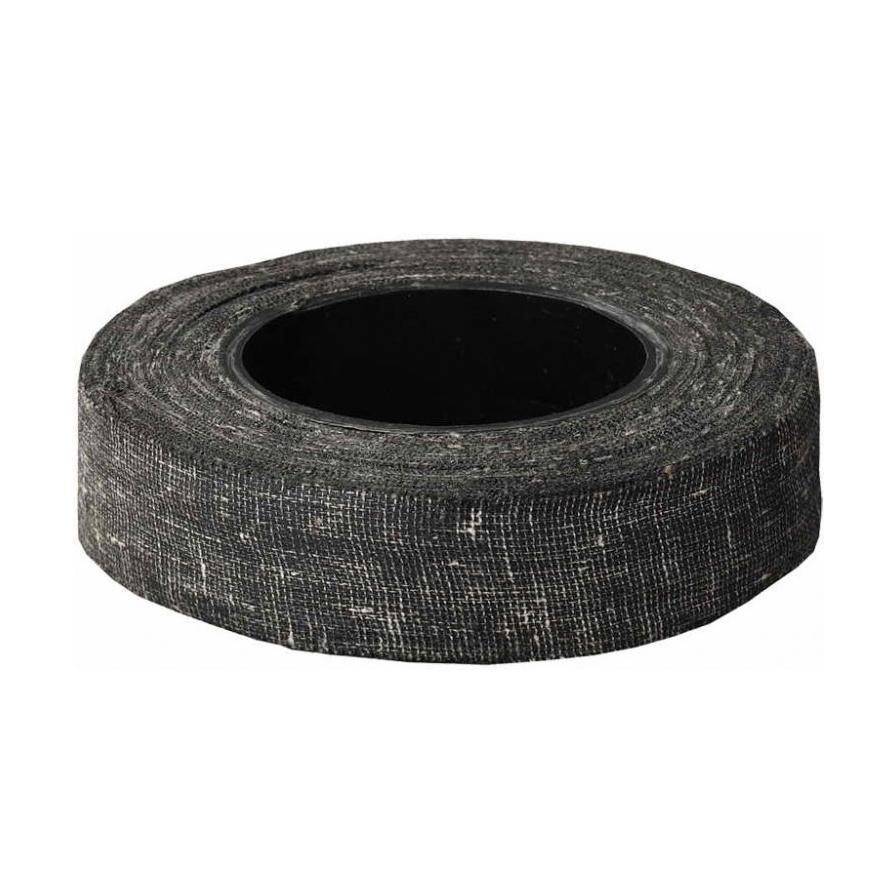 Лента клейкая черная х/б, 70 г,  Россия (арт. 495100)