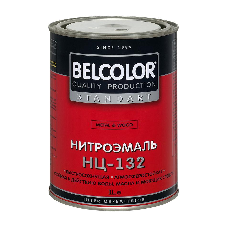 Нитроэмаль НЦ-132 БЕЛКОЛОР
