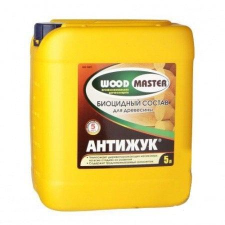Биоцидный состав «WOODMASTER» Антижук для древесины 5л