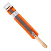 Напильник с деревянной ручкой плоский 250 мм (арт. 645018)