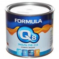 Эмаль ПФ-115 Formula Q8 алкидная глянцевая