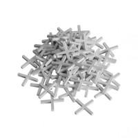 Крестики пластиковые  для установки плитки 3 мм,  200 шт (арт. 470030)
