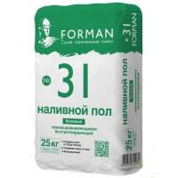 "Наливной пол, 25 кг ""FORMAN"""