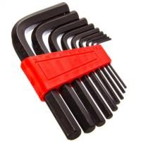 """Набор ключей-шестигранников 2,0 - 12 мм, 9 шт """"ЕРМАК"""" (арт. 657-009)"""