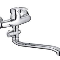 Код 10870 F2139-B Смеситель для ванны с S носом (CN)