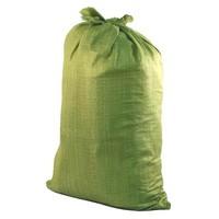 Мешок полипропиленовый для строительного мусора, зеленый, 55 кг (арт. 611060)