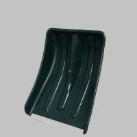 Лопата пластиковая 365*280 с оц.планкой (без черенка)
