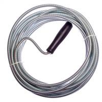 Трос металлический для прочистки труб, 6 мм х 5 м (арт. 669386)