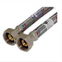 Код 10573 FRESSO PROF Подводка гибкая для воды Г1/2 -Г1/2  1,5м (арт. 573229)