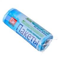 Мешки для мусора особо прочные, 20 шт, 12 микрон,  50*60 см, 30 л, био (арт. 449008)