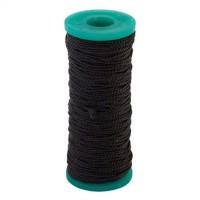 Нить капроновая, черная, в катушках, 65 м (арт. 308091)