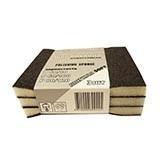 Набор губок для шлифования, средние, 3 шт, 100*70*25 мм, оксид алюминия (арт. 321202)