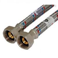 Код 9732 FRESSO PROF Подводка гибкая для воды Г1/2-Г1/2 40 см (арт. 573217)