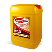 Огнебиозацитный состав «WOODMASTER»  КСД для древесины и тканей (II группа огнезащиты) бесцветный 10 л