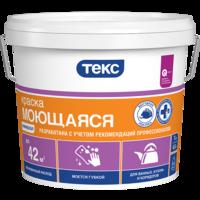 Краска водно-дисперсионная моющаяся Универсал «ТЕКС» 14 кг