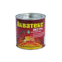 Защитно-декоративное покрытие для древесины Акватекс ЭКСТРА орех 0,8 кг
