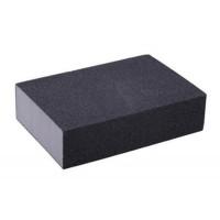 """Губка для шлифования Р80, 100*75*25 мм, оксид алюминия  """"Hobbi"""" (арт. 320102)"""