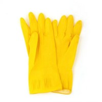 """Перчатки резиновые желтые р-р """"XL"""" """"VETTA """" (арт. 447008)"""