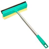 """Окномойка со стальной ручкой, 25 см, зеленая арт. КFС002 """"VETTA"""" (арт. 444018)"""