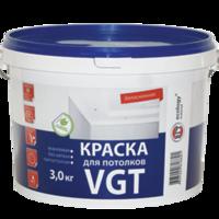 Краска для потолков «белоснежная» ВД-АК-2180 «VGT»