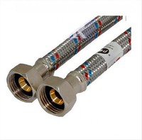 Код 9706 FRESSO PROF Подводка гибкая для воды Г1/2-Г1/2 1м (арт. 573225)