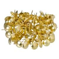 Гвозди декоративные усиленные, золото, 100 гр / 167 шт  (арт. 623062)