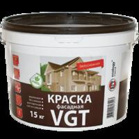 Краска фасадная «белоснежная» ВД-АК-1180 «VGT » 3 кг