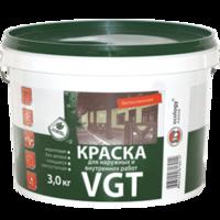 Краска для наружных и внутренних работ «белоснежная» ВД-АК-1180 «VGT»