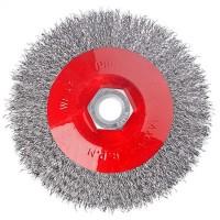 """Щетка металлическая  для УШМ, 115 мм / М14 ,""""тарелка"""", """"ЕРМАК"""" (арт. 656042)"""