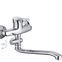 Код 10866 F2114-B Смеситель для ванны с S носом