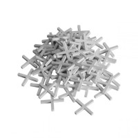 Крестики пластиковые для установки плитки 4 мм, 200 шт (арт. 470040)