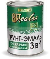 Грун-эмаль по ржавчине желтая 1.8 кг Царицыно