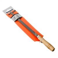 """Напильник с деревянной ручкой трехгранный 200 мм """"ЕРМАК """" (арт. 645-008)"""