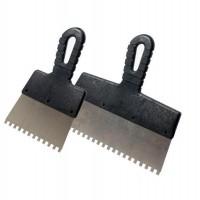 """Шпатель фасадный зубчатый, 250 мм, зубья 6*6 мм """"Remocolor"""" (арт. 121116)"""