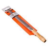 """Напильник с деревянной  ручкой полукруглый 200 мм """"ЕРМАК"""" (арт. 645033)"""